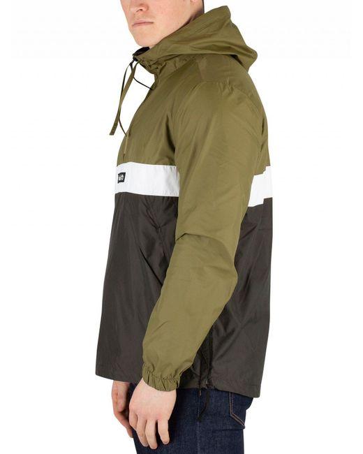 e807a3b67d58 ... Timberland - Green 1 4 Zip Colour Block Overhead Jacket for Men - Lyst  ...