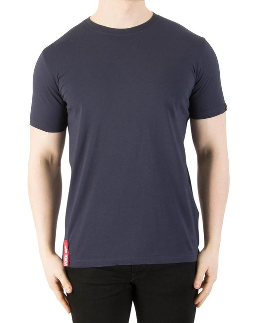 Alpha Industries - Rep Blue Blood Chit T-shirt for Men - Lyst