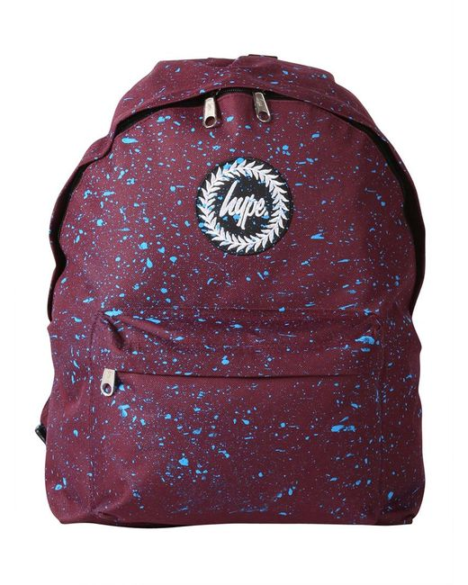 Hype - Purple Burgundy/blue Speckle Backpack for Men - Lyst