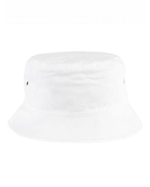 096bb5ee ... Tommy Hilfiger - Classic White Logo Reversible Bucket Hat for Men - Lyst  ...
