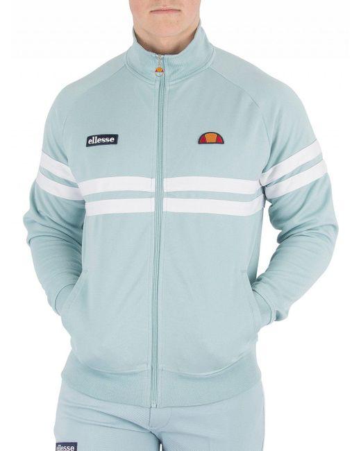 Ellesse - Men's Rimini Track Top Jacket, Blue Men's Tracksuit Jacket In Blue for Men - Lyst