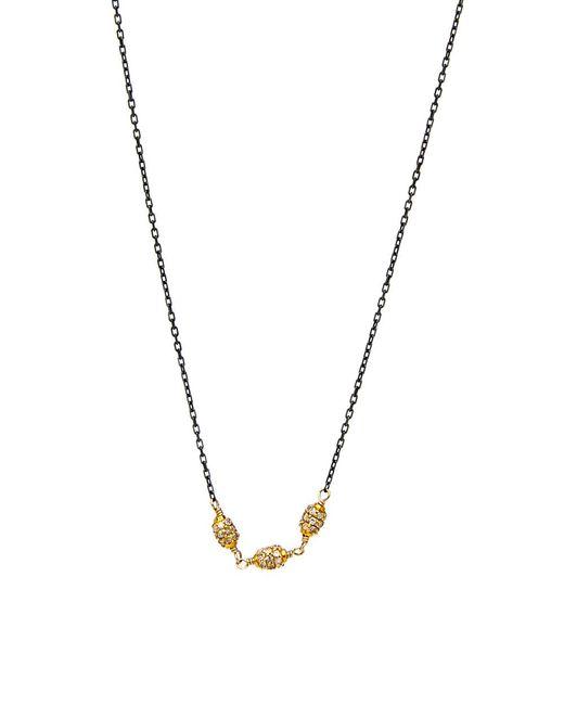 Dana Kellin Fine Jewelry - Multicolor Diamond Ball Bead Necklace - Lyst
