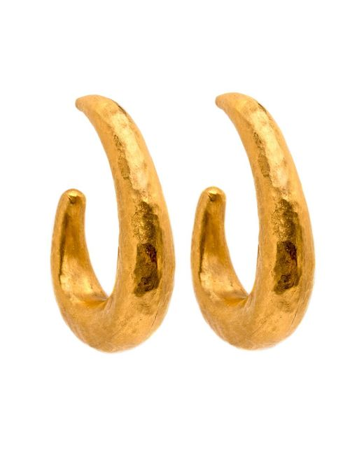 Yossi Harari | Metallic Roxanne Hoop Earrings | Lyst