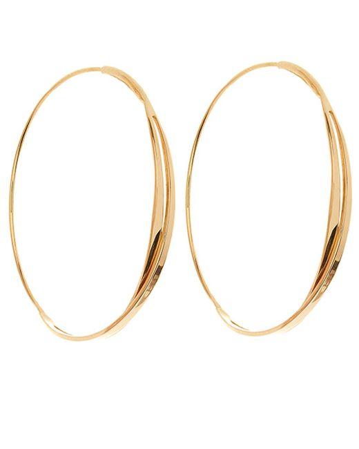 Lana Jewelry | Metallic Gold Small Twist Magic Hoops | Lyst
