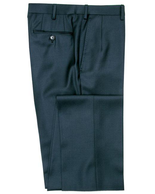 Brioni - Blue Solid Navy Dress Pant for Men - Lyst