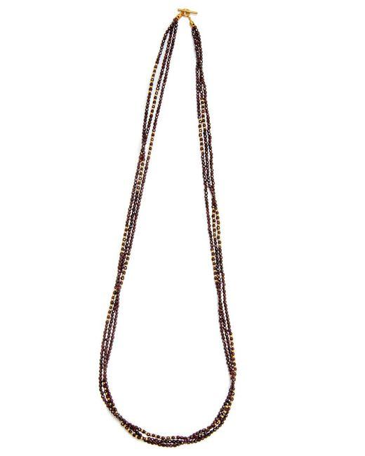 Yossi Harari | Multicolor Tribe Wrap Garnet Necklace | Lyst
