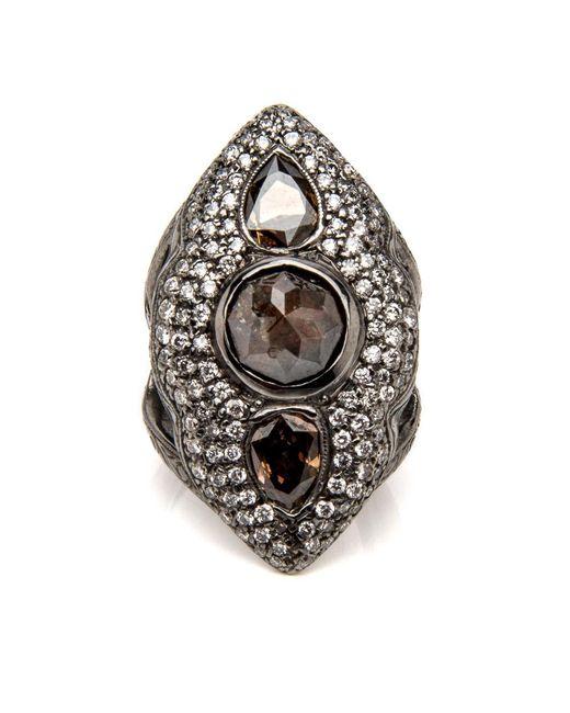 Loree Rodkin - Metallic Marquee Diamond Pinky Ring - Lyst