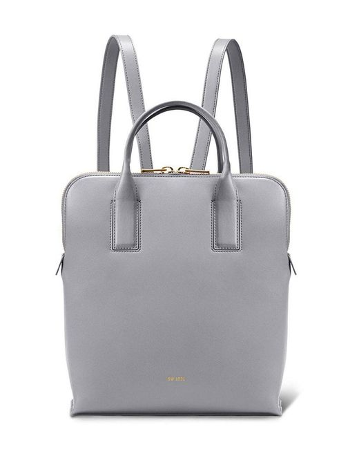 Sarah White - Gray Convertible Tablet Backpack - Lyst