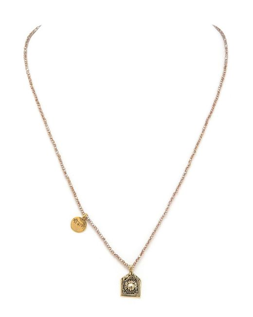 Taylor and Tessier - Metallic Dainty Sun Necklace - Lyst