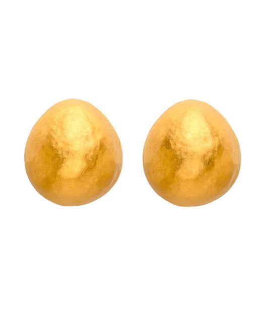 Yossi Harari | Metallic Roxanne Gold Stud Earrings | Lyst