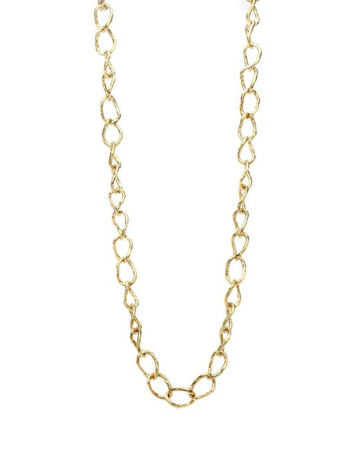 Ashley Pittman - Metallic Sihiri Bronze Link Necklace - Lyst