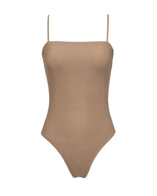 Static Swimwear - Brown Avalon One Piece - Lyst