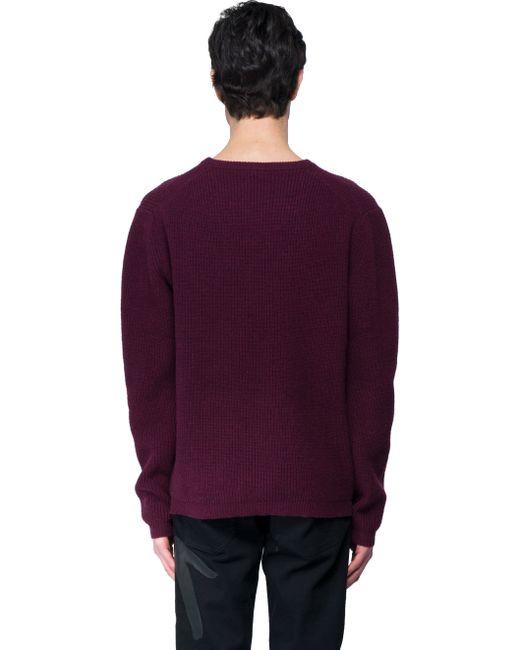 Purple Sweater For Men 77