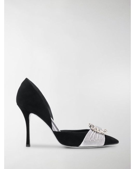 Rene Caovilla - Black Hill Pumps - Lyst