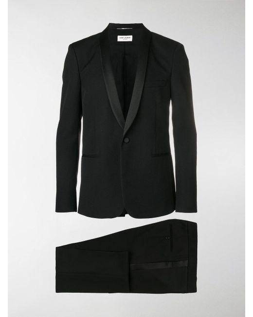 Saint Laurent - Black Classic Tuxedo for Men - Lyst