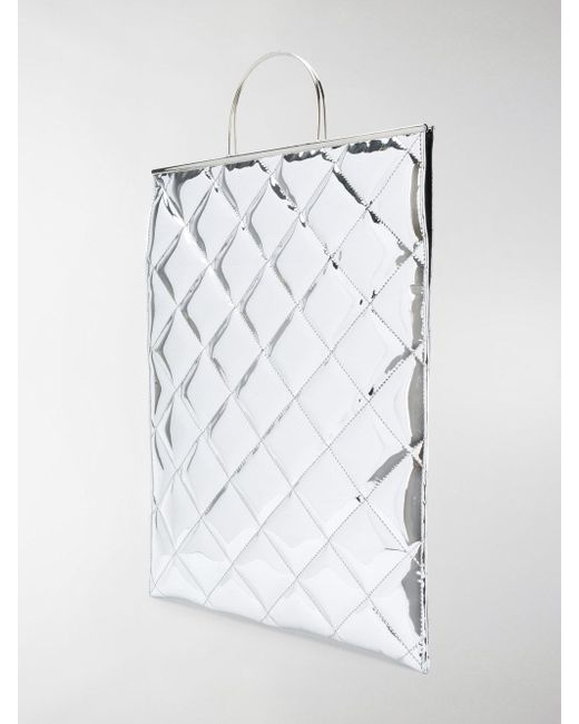 Shopping Discounts Online quilted shopper tote - Metallic Marques Almeida Ebay Sale Online LufrrX