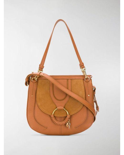 See By Chloé - Brown Hana Shoulder Bag - Lyst
