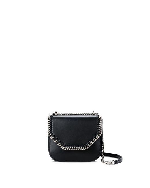 Stella McCartney | Black Falabella Box Mini Shoulder Bag | Lyst