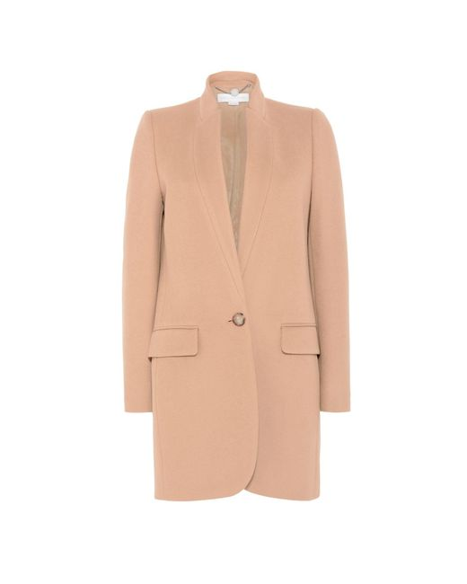 Stella McCartney | Blue Camel Bryce Coat | Lyst