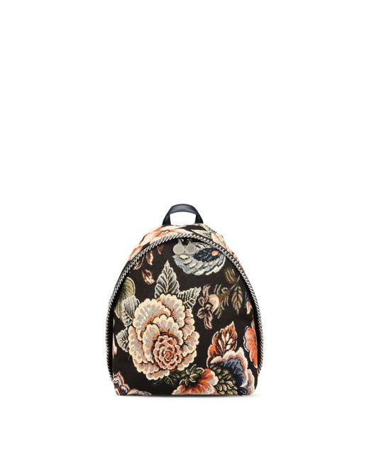 Stella McCartney   Multicolor Tapestry And Denim Small Backpack   Lyst