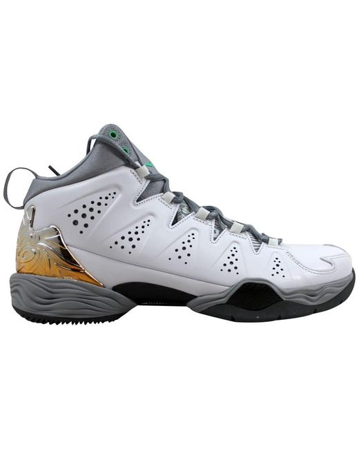 bf948a2d Lyst - Nike Melo M10 White/green Glow-wolf Grey-cool Grey in Gray ...