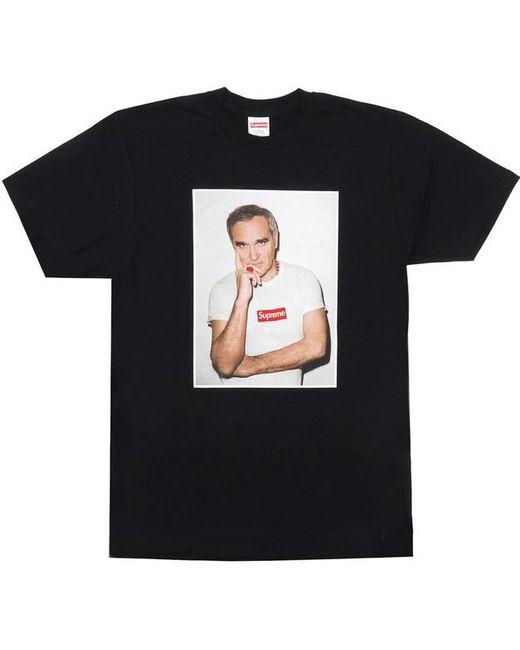 Supreme Black Morrissey T Shirt For Men Lyst