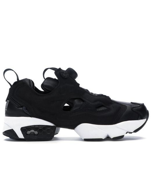 21317d9a5272 Reebok - Black Instapump Fury Atmos Bounty Hunter Packer Shoes for Men -  Lyst