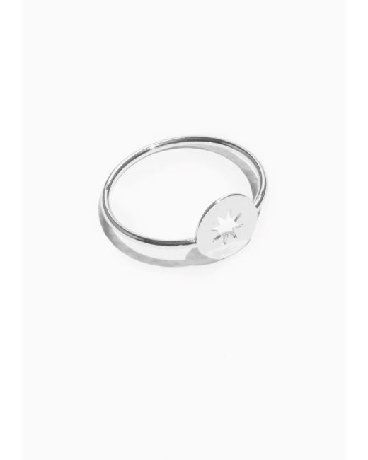& Other Stories | Metallic Star Charm Ring | Lyst