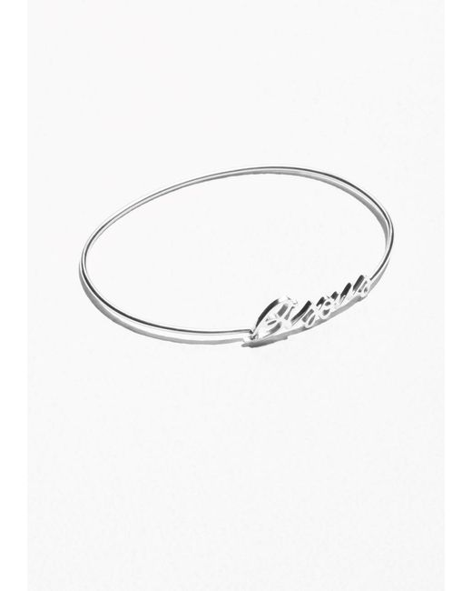& Other Stories | Metallic Bisous Cuff | Lyst