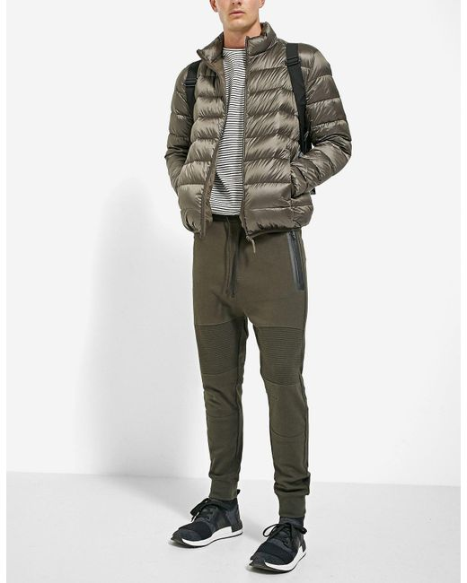 Stradivarius | Green Biker Joggers for Men | Lyst