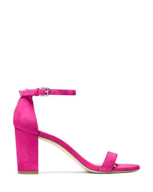 Stuart Weitzman - Pink The Nearlynude Sandal - Lyst