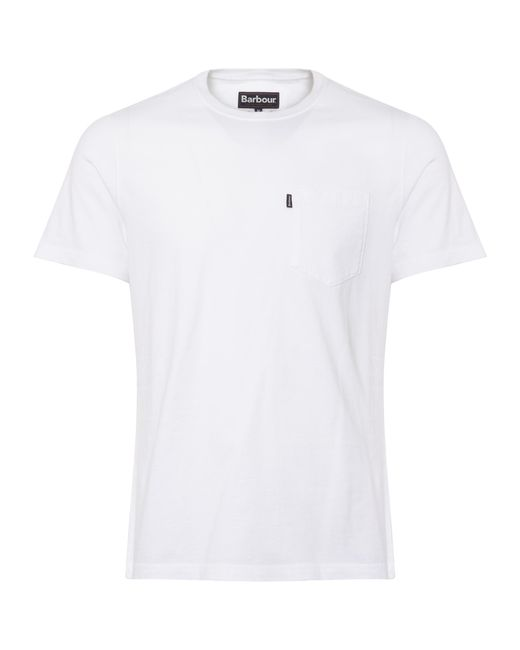 Barbour - White Essential Pocket for Men - Lyst