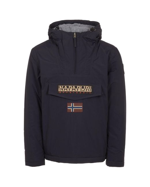 Napapijri - Blue Marine Rainforest Winter Jacket for Men - Lyst