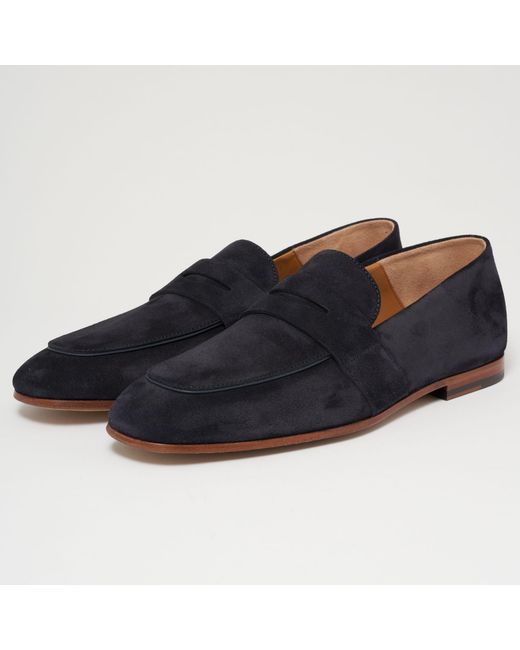 Hugo Boss Kensington Suede Penny Loafers shop offer cheap price PpyE1DX4