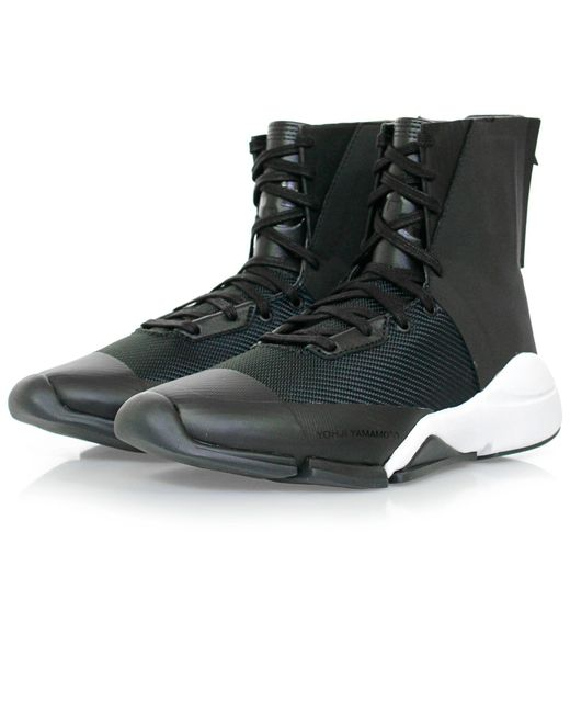 Y-3 | Future Zip High Black Boot for Men | Lyst