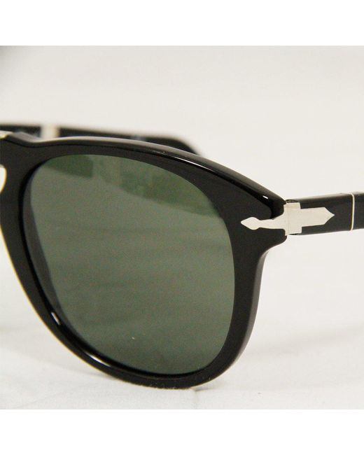 528f608cb36 ... Persol - 714 Foldable Polarized Sunglasses- Black   Grey for Men ...