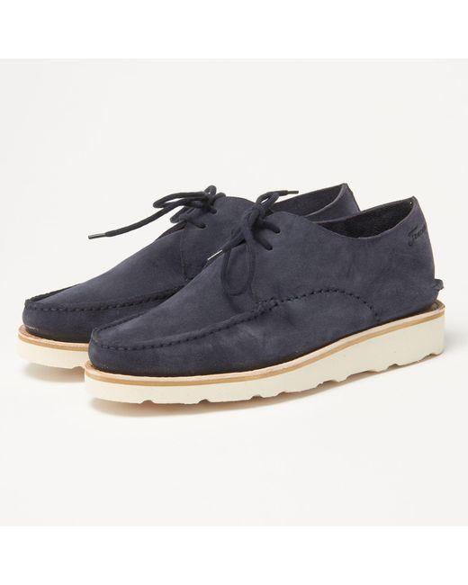 4ac56b403ea Fracap Tu312w Blue Suede Shoes in Blue for Men - Lyst