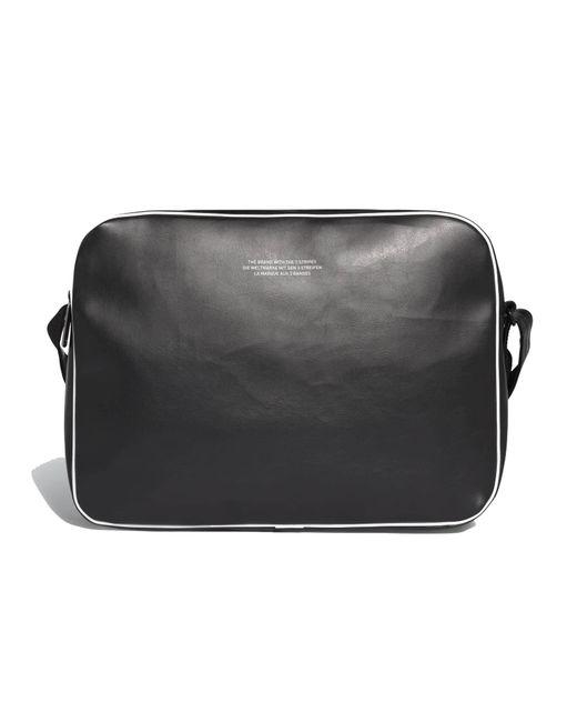 849a5da3723a adidas Originals Vintage Airliner Bag - Black in Black for Men ...