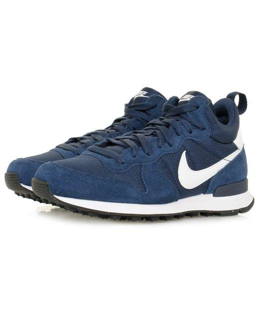 Nike   Blue Internationalist Mid Midnight Navy Shoe 859478 for Men   Lyst  ...