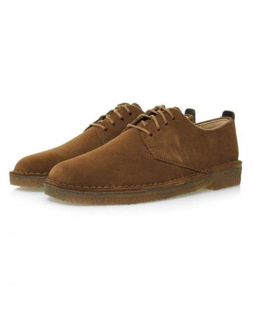 Clarks - Multicolor Desert London Shoes- Cola for Men - Lyst