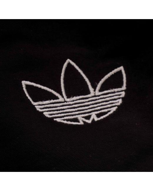 c1f8326ad3f ... Adidas Originals - Woven Three Stripe Warm Up Pant - Black for Men -  Lyst ...
