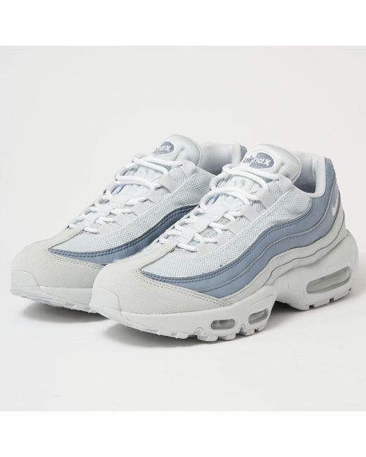 sale retailer eb7da 5df1c Nike - Air Max 95 Essential - Pure Platinum  White for Men ...