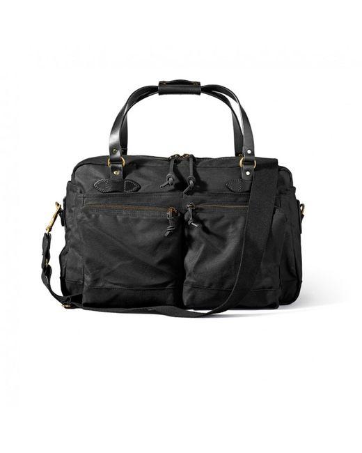 Filson - 48 Hour Tin Cloth Duffle Bag - Black - Lyst