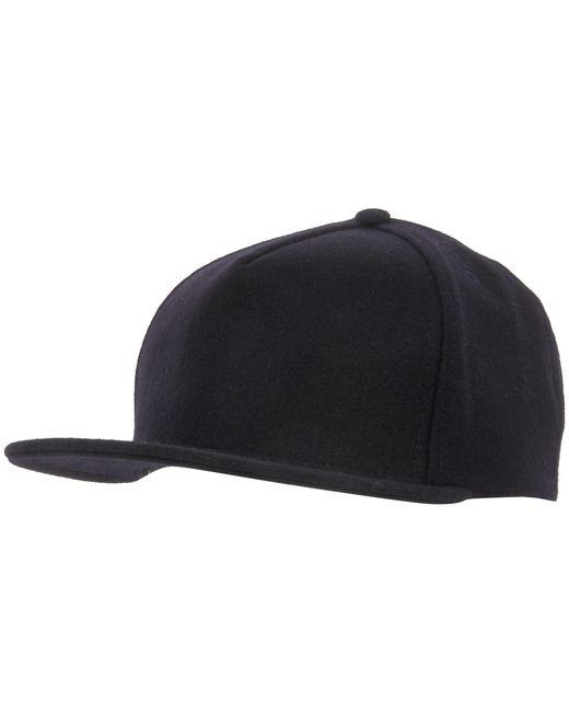 Universal Works   Blue Navy Melton Baseball Hat for Men   Lyst