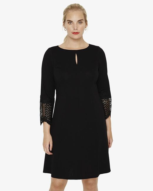 Studio 8 - Black Cora Ponte Dress - Lyst