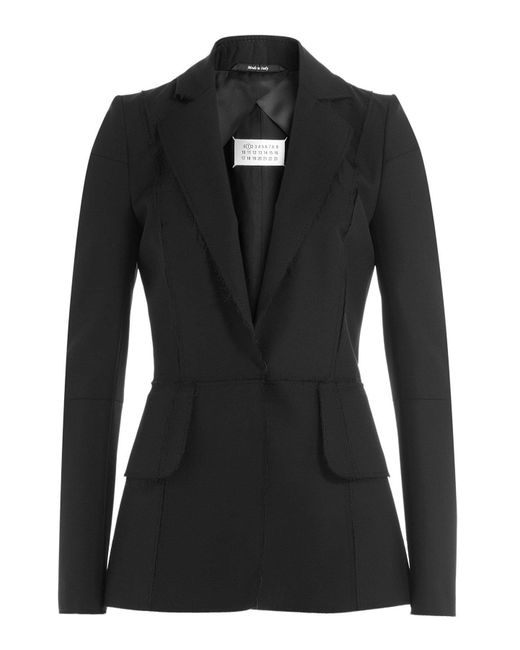Maison Margiela - Black Virgin Wool Blazer - Lyst