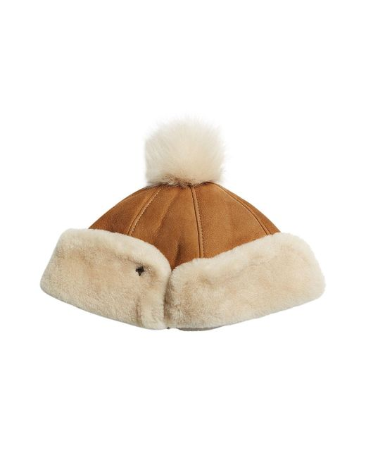 Ugg   Multicolor Sheepskin Pom Hat   Lyst