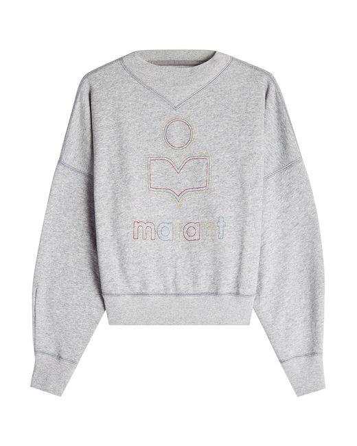 Étoile Isabel Marant | Multicolor Odilon Cotton Sweatshirt | Lyst