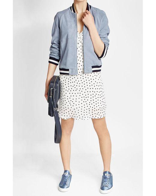 HUGO | Multicolor Leather Jacket | Lyst