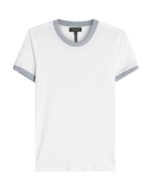 Rag & Bone - White Brighton T-shirt - Lyst